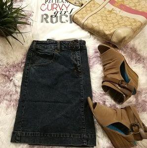 INC Jeans Skirt